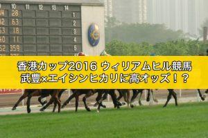 ウィリアムヒル競馬|香港カップ2016の結果|出走予定馬|騎手|ブックメーカーの予想オッズ